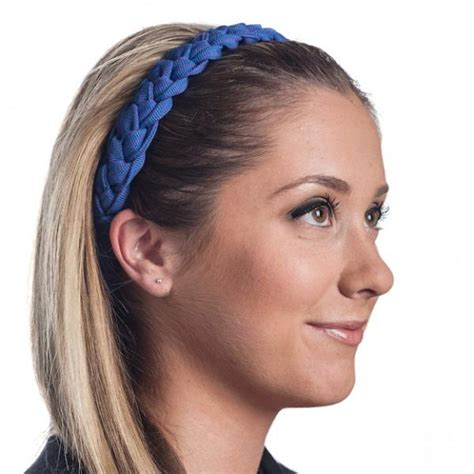 using hair bands to make hair straight using braided hair bands to accessorise your hair