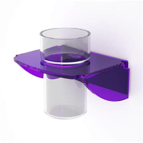 bicchieri plexiglass porta bicchiere da parete plexiglass dea petrozzi idfl