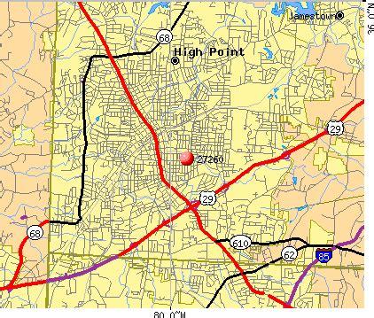 map carolina highpoint