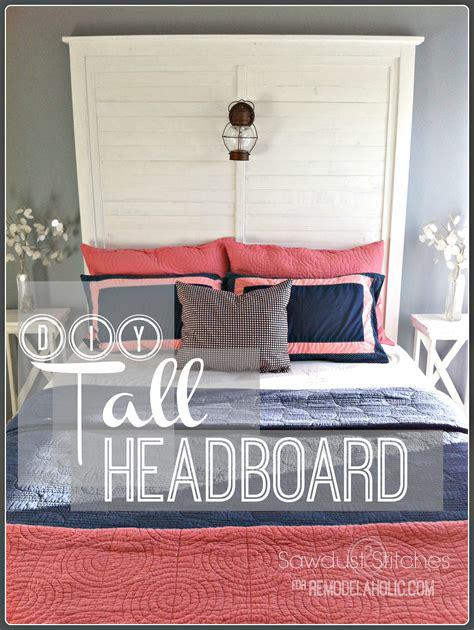how to make a headboard taller remodelaholic build a tall slat headboard