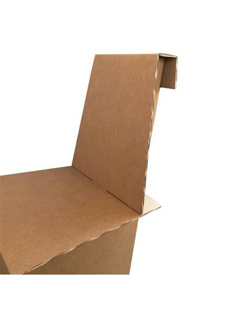sedie leggere set di quattro sedie leggere di ecodesign in cartone