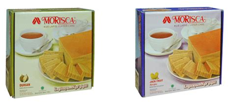 Morisca Kue Lapis Srikaya 365gr S morisca layer cake