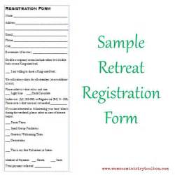 retreat registration form template 25 best ideas about registration form sle on