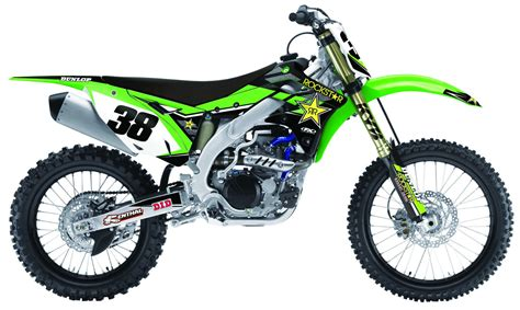 motocross bike parts uk kawasaki rockstar kxf motocross complete graphics kit