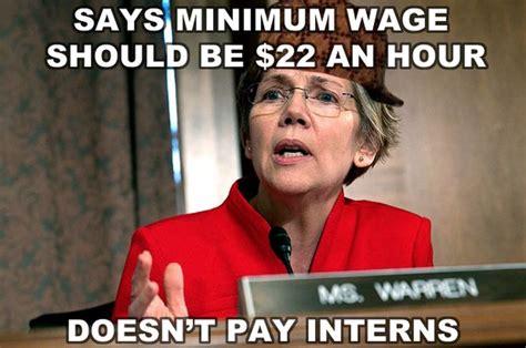 Elizabeth Warren Memes - elizabeth warren hypocrisy caigning for high min wage and unlimited immigration counter