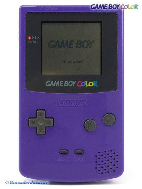 gameboy color purple gameboy color console purple purple grape with