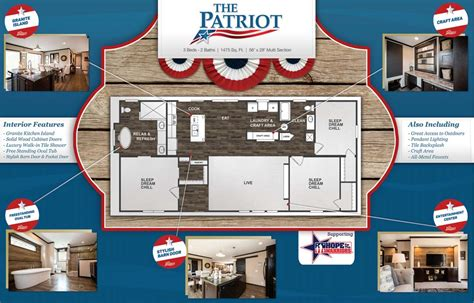 patriot homes floor plans the patriot from clayton homes east homes of
