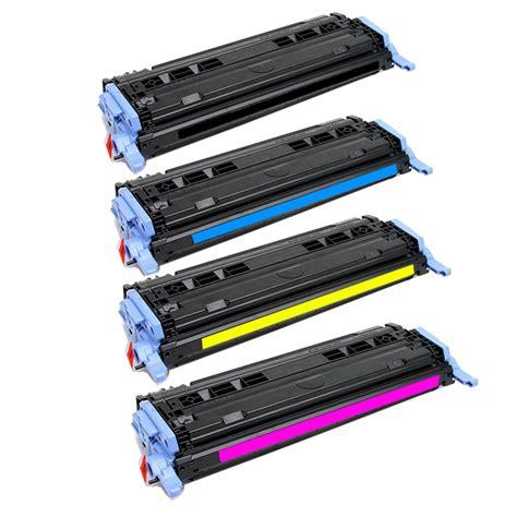 2600n laserjet toner for hp q6000a q6001a q6002a q6003 cartridge 4 color bundle ebay