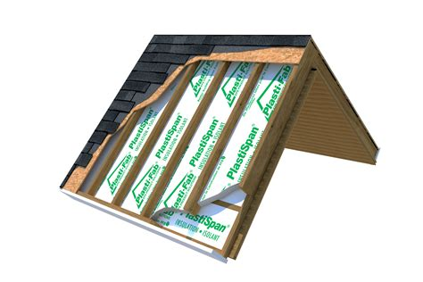 How To Insulate A Cathedral Ceiling With No Attic by Insulating A Cathedral Ceiling In The Plasti Fab Solutions
