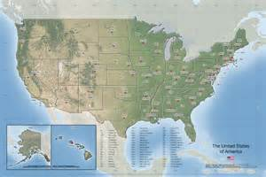 the united states of america reference map maptechnica