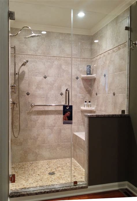 Frameless Shower Doors Traditional Bathroom Glass Shower Doors Philadelphia