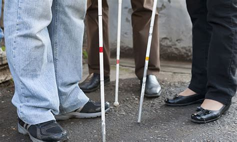 People Who Are Blind Often Use Canes White Cane Safety Day Holidaysmart