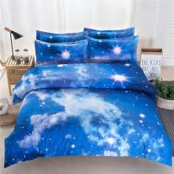 King Size Duvet Cover Pattern Galaxy Cosmos Pattern 3d Printed Single King Size