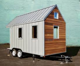 house on wheels the miter box modern tiny house on wheels by shelter wise llc