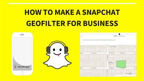 How To Create A Snapchat Geofilter For Business 2016 On Demand Paid Youtube Free Snapchat Geofilter Template