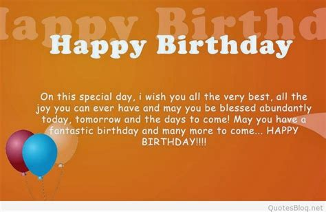 Happy Birthday I Wish You All The Best In Best Birthday Sayings