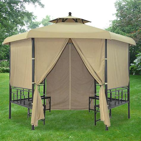 replacement canopy  wilmore gazebo riplock  garden winds