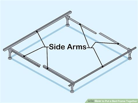 how to put a bed frame together how to put a bed frame together 14 steps with pictures