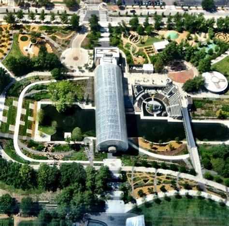 Myriad Botanical Gardens Oklahoma City Myriad Gardens Wallpaper