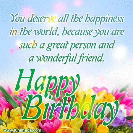 cute happy birthday quote   friend gif   funimadacom
