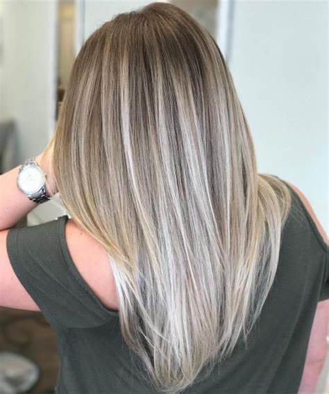 blonde and lowlights for medium straight hair 40 beautiful blonde balayage looks