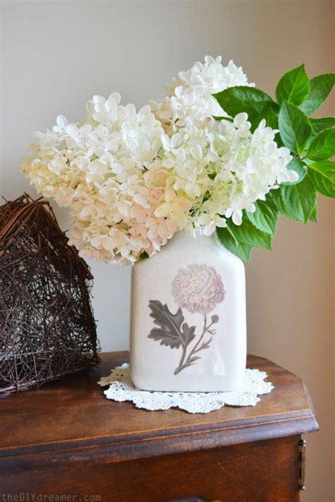 Vintage Decoupage Ideas - diy decoupage vintage vase creating a vintage looking