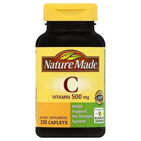 Vitamin C Ul nature made vitamin c 500mg caplets