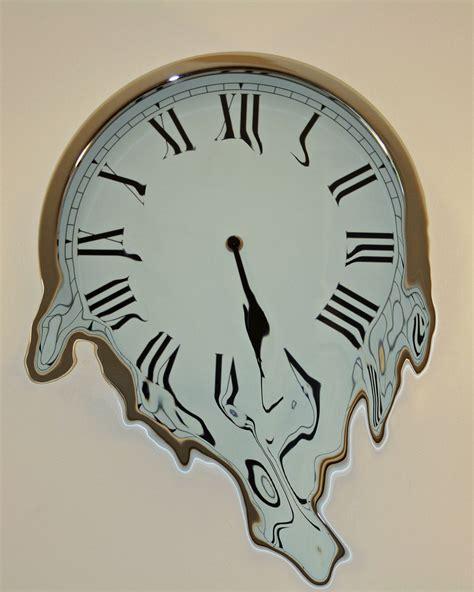 Unique Wall Clock by Dali Esque Melting Clock Eshva Flickr