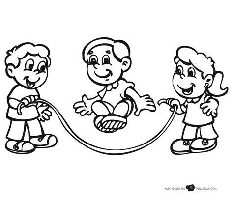 imagenes de niños jugando juegos tradicionales dibujos juegos tradicionales para colorear imagui