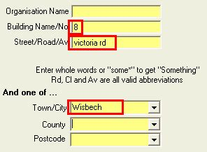 Search For Address Using Postcode Postcode Address Search Address Search For Web Or Desktop