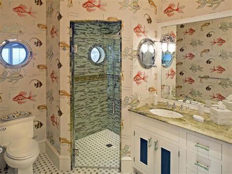 fish bathroom ideas fish wallpaper for bathroom 2017 grasscloth wallpaper