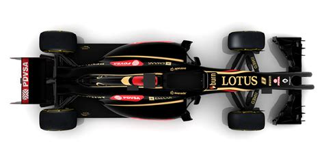lotus reveals split nose e22 2014 f1 car hours after team