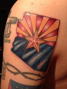 arizona flag tattoo arizona by brando at sixth