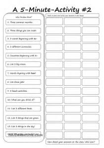 english exercises for year 5 students first grade