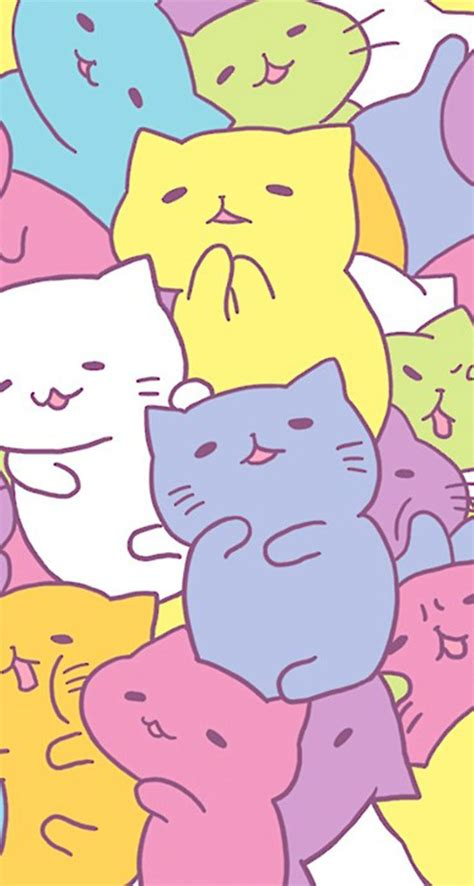 Wallpaper Cats Kawaii | kawaii wallpaper iphone wallpaper kawaii iphone