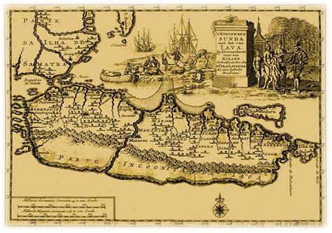 Arsitektur Dan Kota Kota Di Jawa Pada Masa Kolonial Original rudy dewanto peta kuno kota kota di jawa
