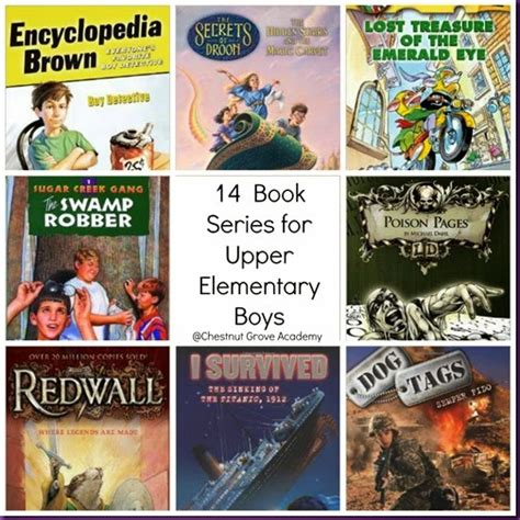 elementary picture books chestnut grove academy 14 book series for