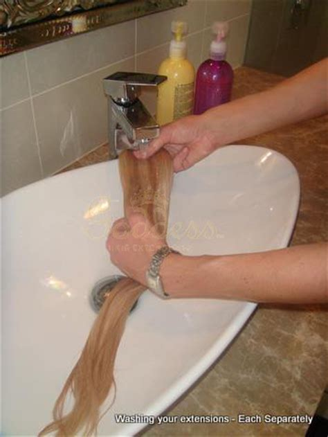 how do you wash hair extensions how do you wash your human hair extensions weft