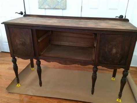 Refurbished Dining Room Tables how to paint a vintage buffet home stories a to z