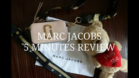 menit review tas marc jacobs snapshot youtube