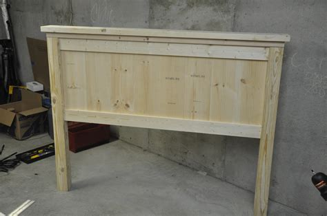 build a wood headboard free plans for making a queen size farmhouse bed a