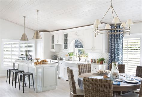 coastal cottage  whitewashed ceiling home bunch