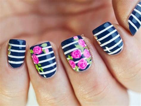 imagenes uñas decoradas alto relieve preciosas u 241 as decoradas con flores en alto relieve