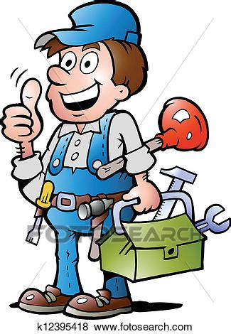 clipart idraulico clip idraulico uomo tuttofare pollice