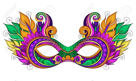 Mardi Gras Masks Clip by Mask Clipart Colorful Pencil And In Color Mask Clipart