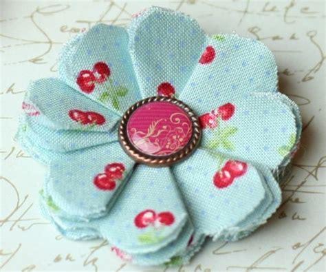 Fleur En Tissu A Faire Soi Meme by Fleurs En Tissu 224 Faire Soi M 234 Me