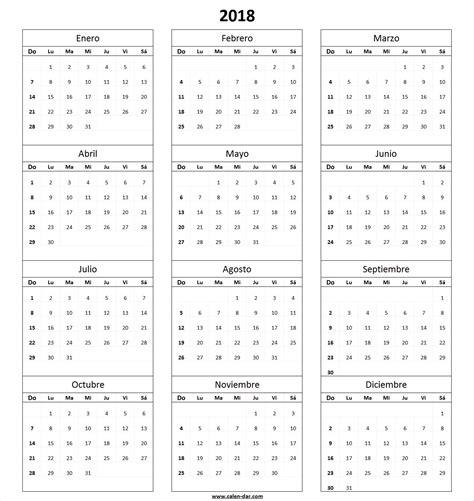 Calendario Meses Calendario 2018 Para Imprimir Por Meses Proyectos Que