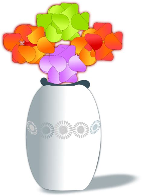 Flowers In A Vase Clipart by Flowers In Vase 2 Clip At Clker Vector Clip