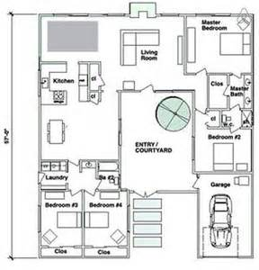 central courtyard house plans u shaped house plans with central courtyard