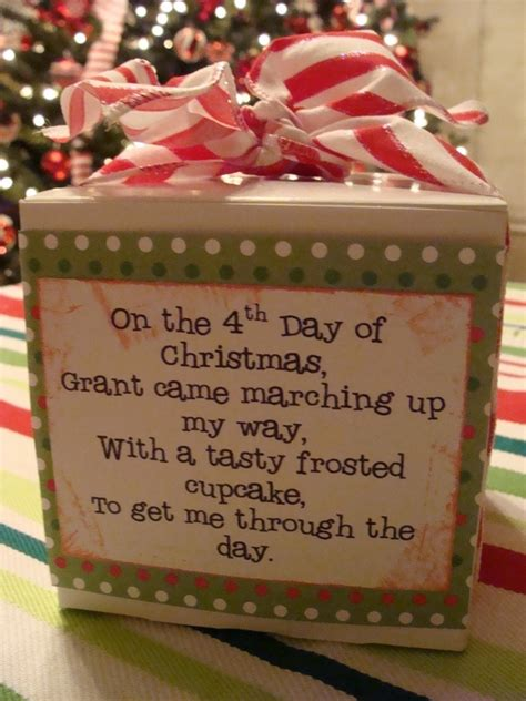 12 days of christmas teacher gifts christmas pinterest